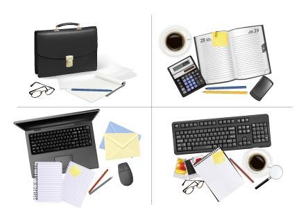 free vector Office supplies 03 vector