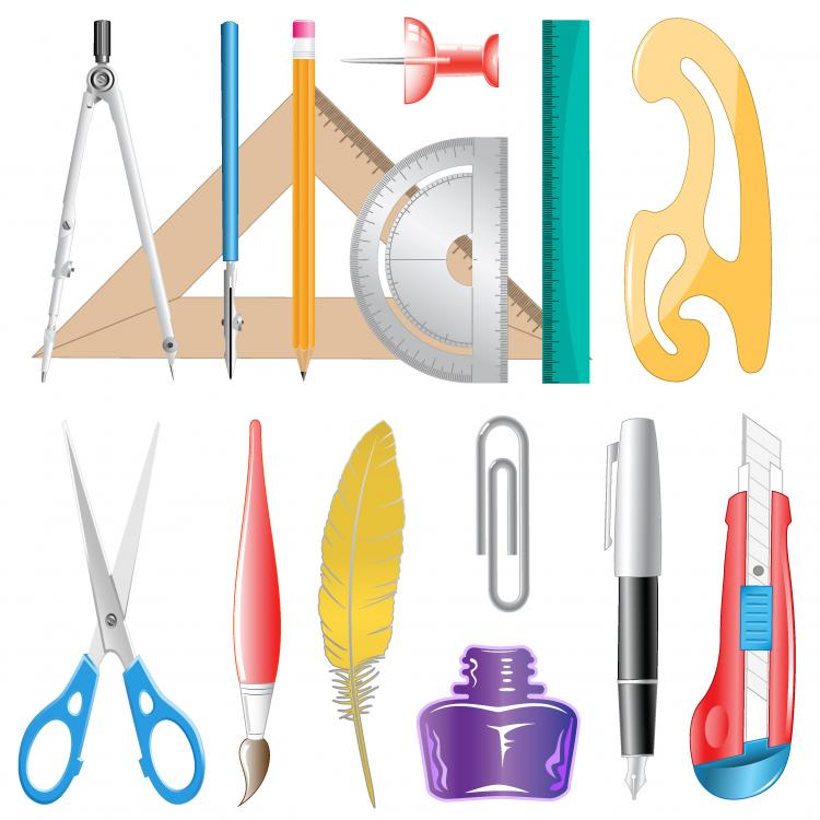 Office Supplies Images Free vector office supplies