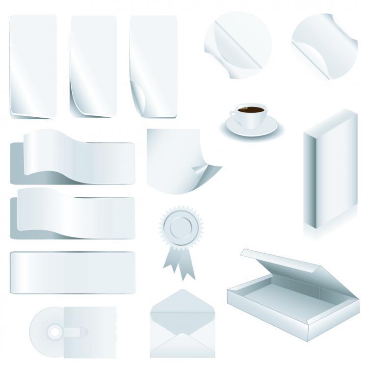 free vector Office supplies vector