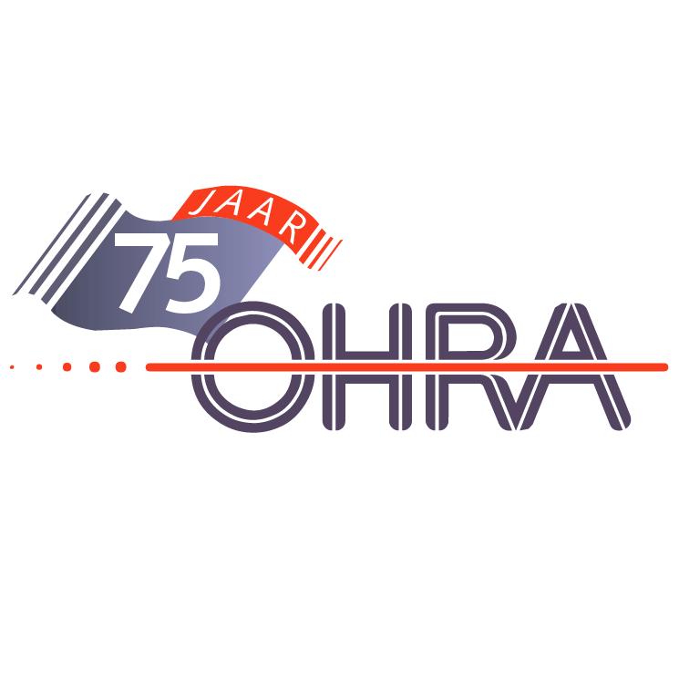 free vector Ohra 75 jaar