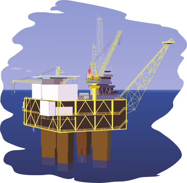 oil rig clip art free vector 4vector rh 4vector com oil rig clipart offshore rig clipart
