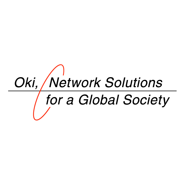 oki network solutions free vector    4vector