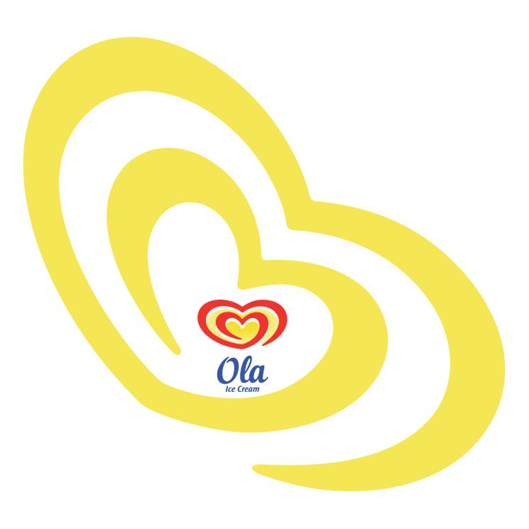 free vector Ola ice cream