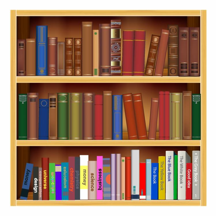 free vector Old and new books