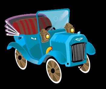 free vector Old car vector