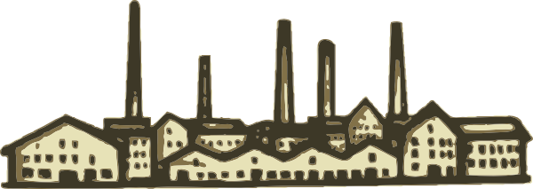 free vector Old Factory clip art