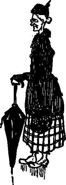 free vector Old German Woman clip art