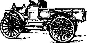 free vector Old Light Truck clip art