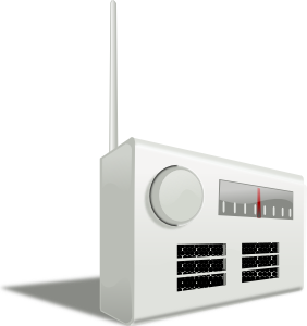 free vector Old Radio clip art