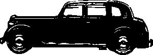 free vector Old Rover Car clip art