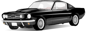 free vector Old Style American Car clip art