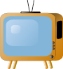 free vector Old Styled Tv Set clip art