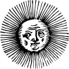 free vector Old Sun clip art