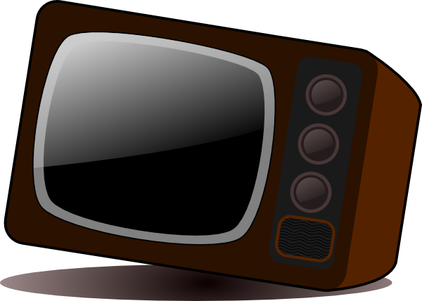 free vector Old Television clip art
