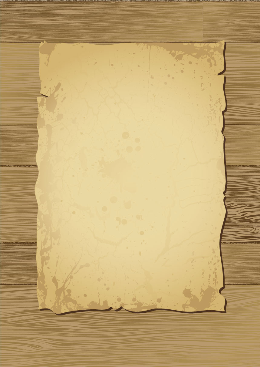 free vector Old wood and paper vector
