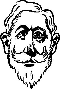 free vector Older Kaiser Wilhelm clip art