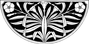 free vector Oleander Design clip art