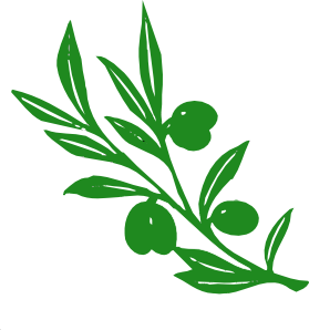 free vector Olive Tree Branch clip art
