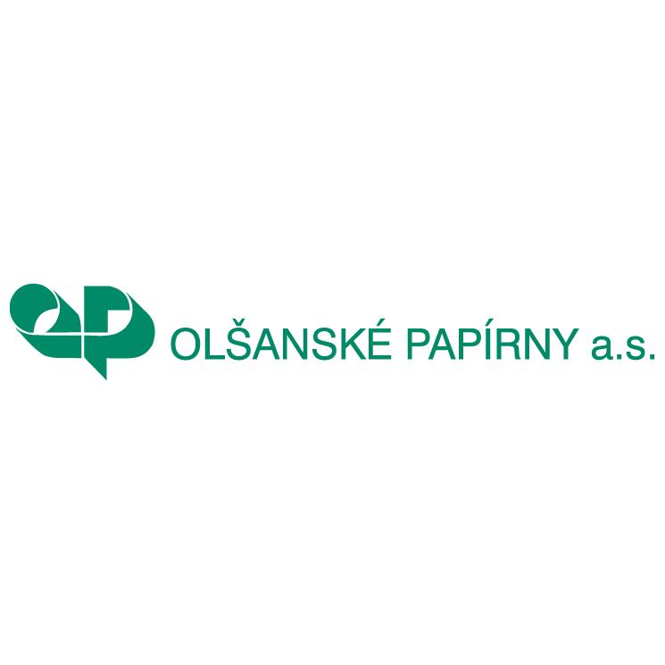 free vector Olsanske papirny