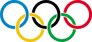 free vector Olympic Rings clip art