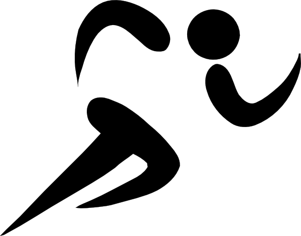 free vector Olympic Sports Athletics Pictogram clip art