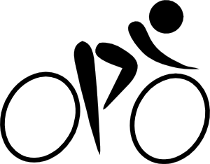 free vector Olympic Sports Cycling Road Pictogram clip art