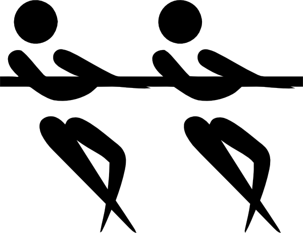 free vector Olympic Sports Tug Of War Pictogram clip art