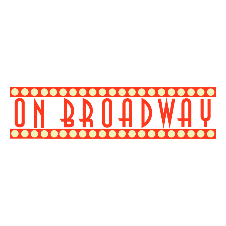 On broadway (43601) Free EPS, SVG Download / 4 Vector
