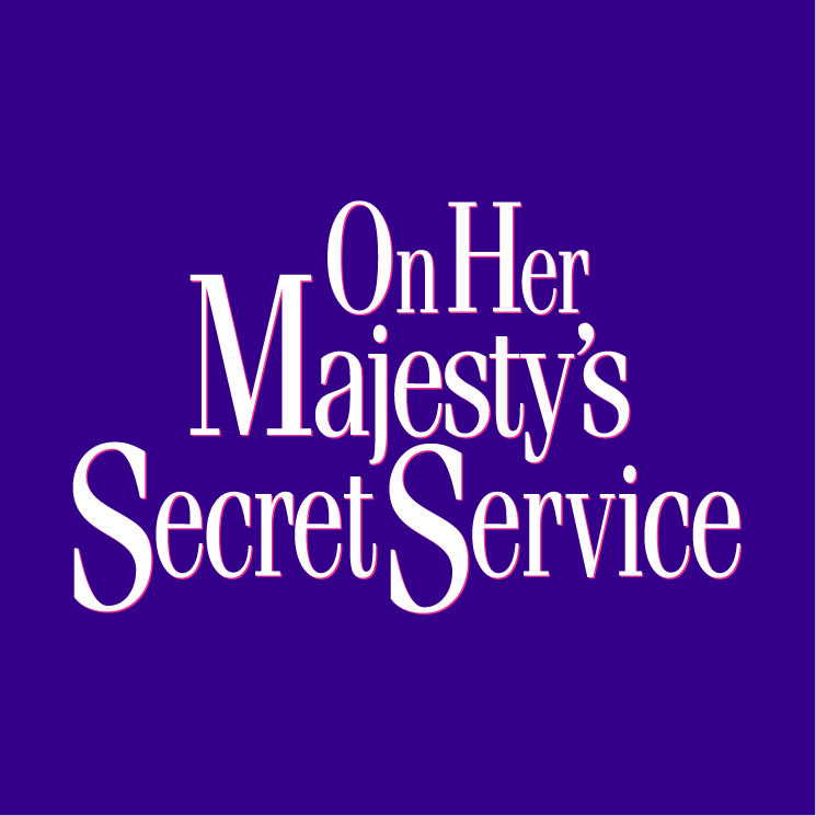 free vector On her majestys secret service