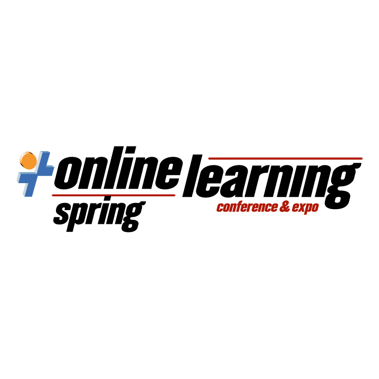 free vector Online learning spring