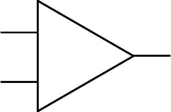 free vector Opamp Symbol clip art