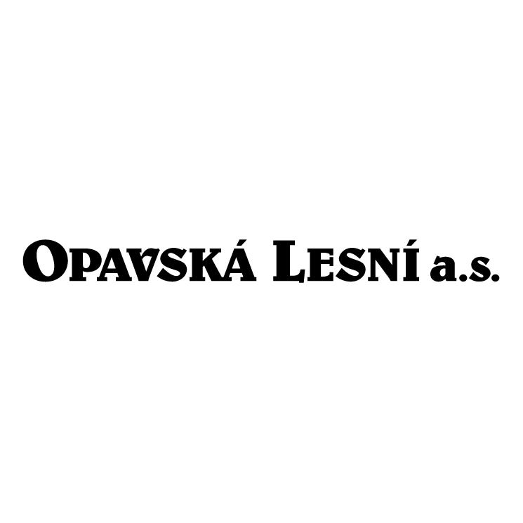 free vector Opavska lesni