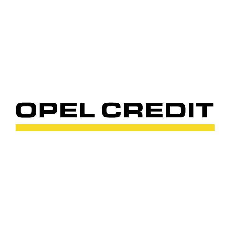 free vector Opel credit