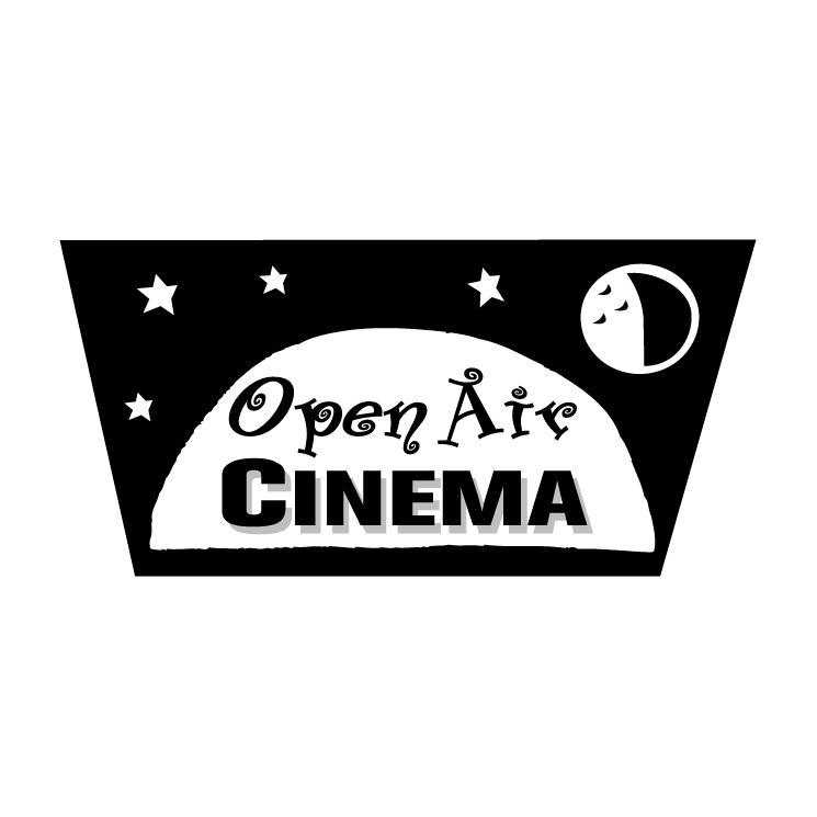 free vector Open air cinema