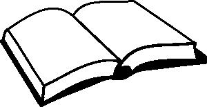 free vector Open Book clip art 111581