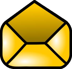 free vector Open Envelope Icon clip art