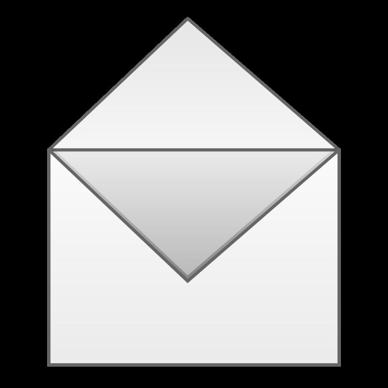 Open Envelope Free Vector / 4Vector