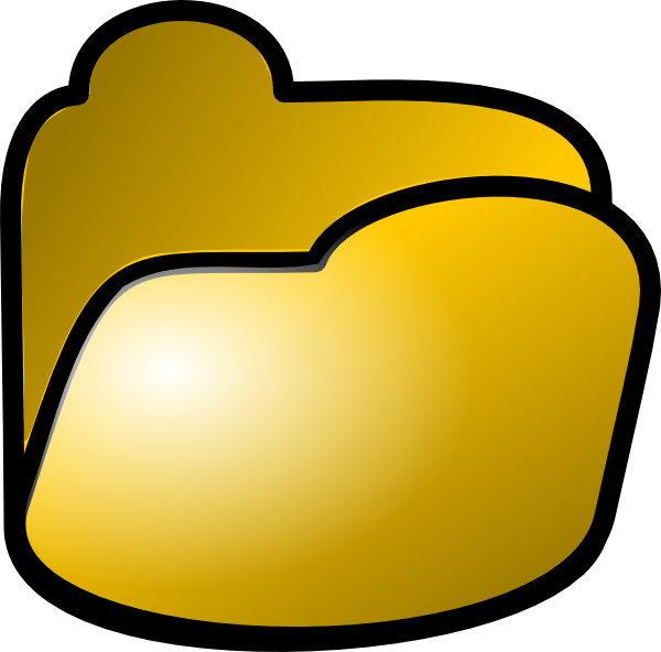 free clipart folder icon - photo #33