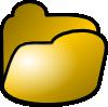 free vector Open Folder Icon clip art