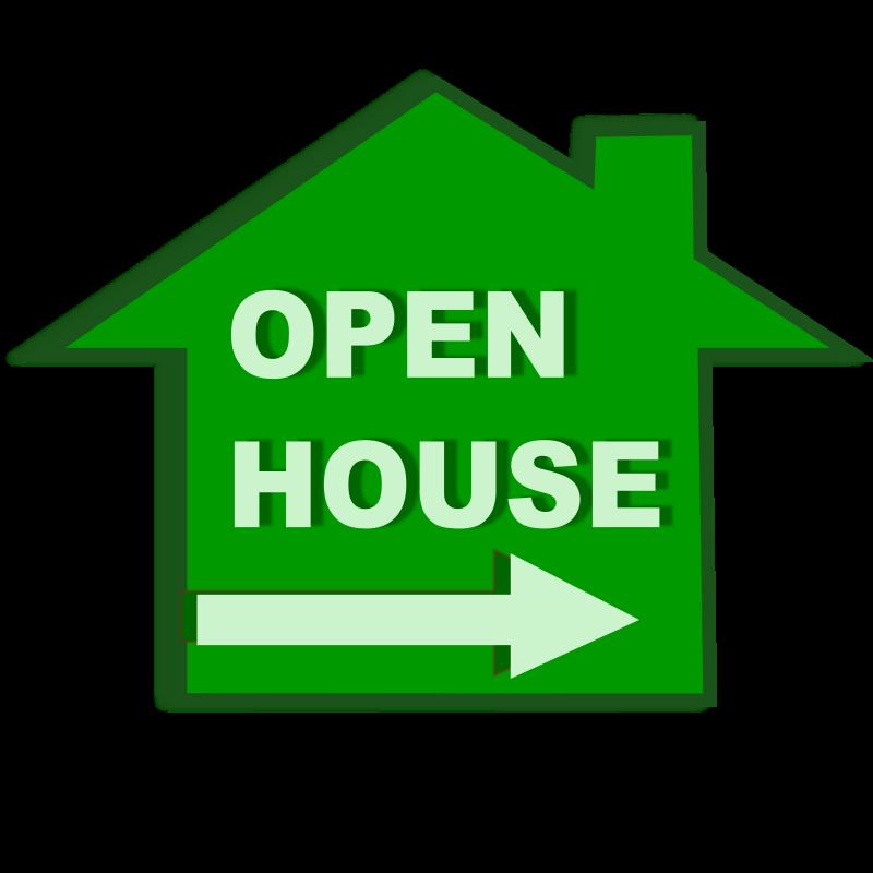 free vector Open house icon