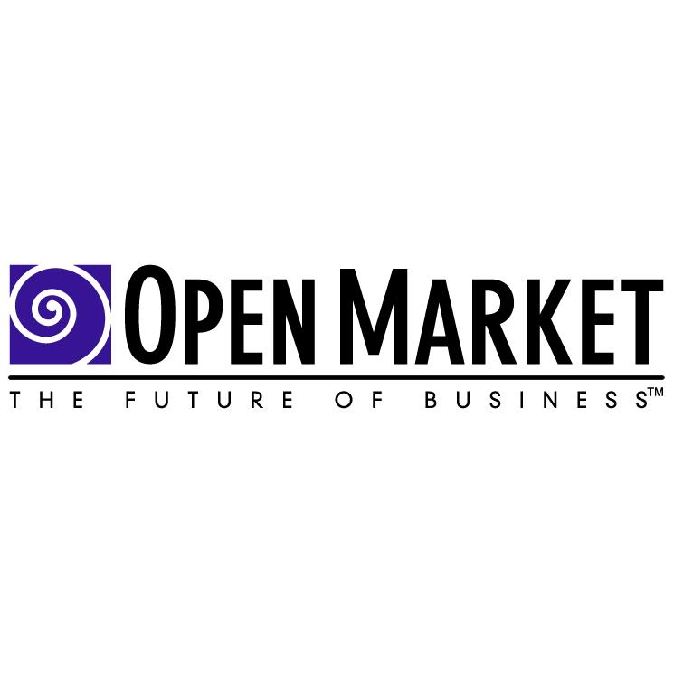 free vector Open market