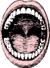 free vector Open Mouth clip art