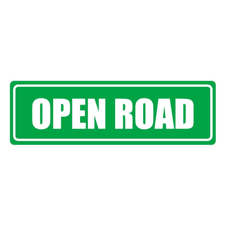 free vector Open road