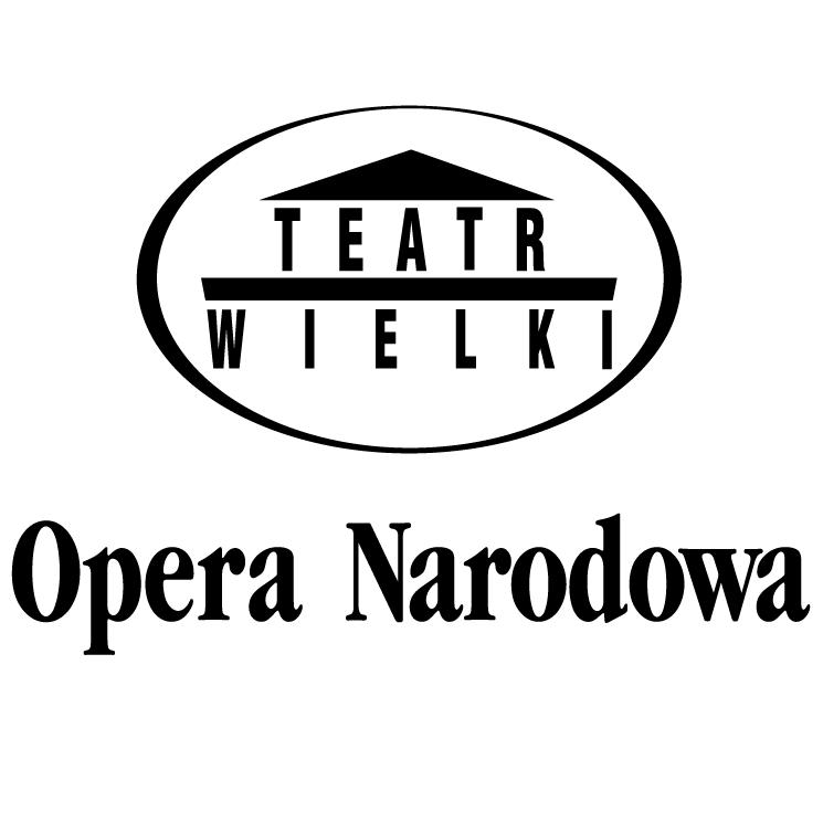 free vector Opera narodowa