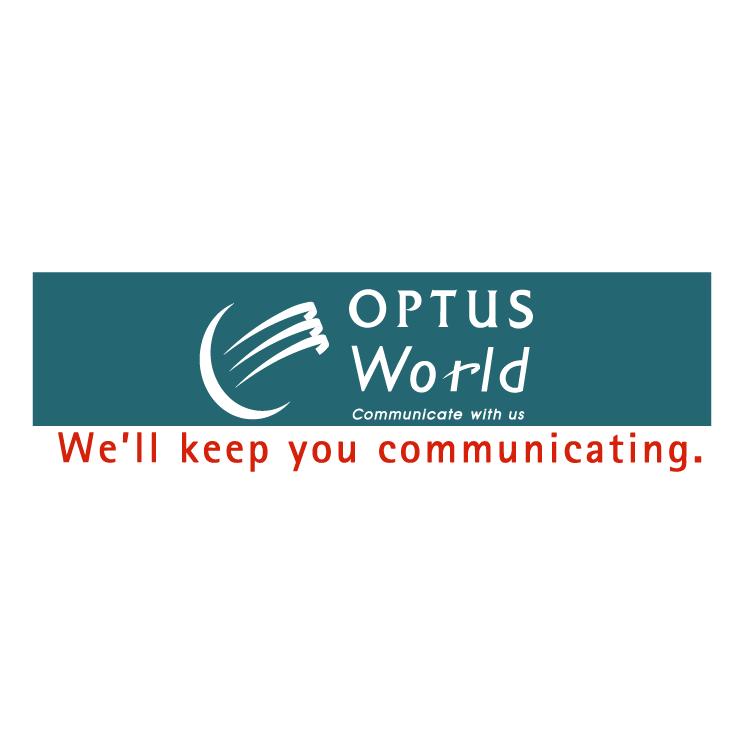 free vector Optus world 0