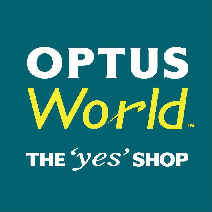 free vector Optus world