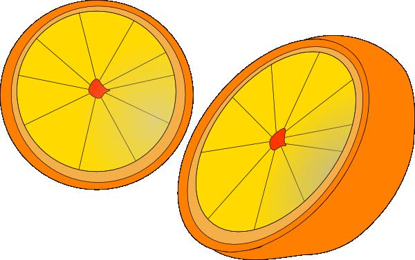 free vector Orange clip art
