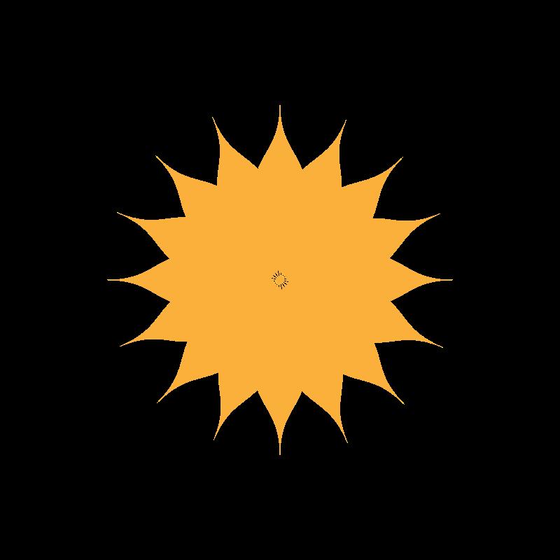 free vector Orange Flower