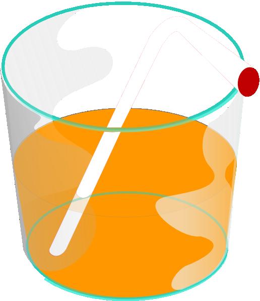 free vector Orange Juice Drink clip art