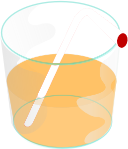 free vector Orange Juice Drink clip art